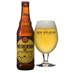 Mothership Wit (Organic Wheat Beer)